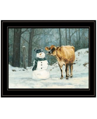 """Well Hello There by Bonnie Mohr, Ready to hang Framed Print, Black Frame, 19"""" x 15"""""""