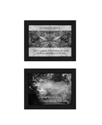"""Beauty Collection By Trendy Decor4U, Printed Wall Art, Ready to hang, Black Frame, 20"""" x 14"""""""