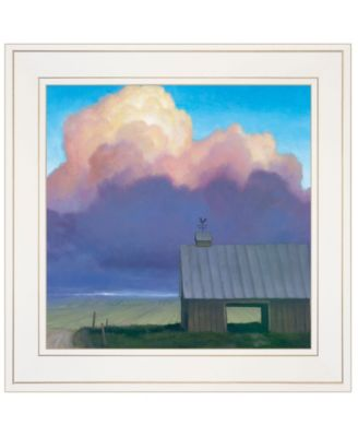 """Through Rows by Tim Gagnon, Ready to hang Framed print, White Frame, 15"""" x 15"""""""