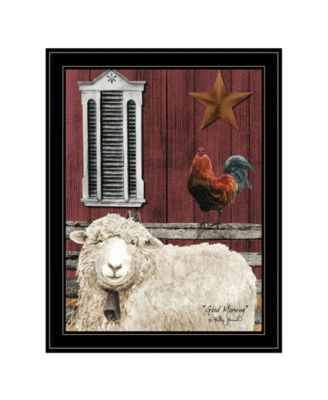 """Good Morning by Billy Jacobs, Ready to hang Framed Print, Black Frame, 21"""" x 27"""""""