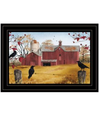 """Autumn Gold by Billy Jacobs, Ready to hang Framed Print, Black Frame, 15"""" x 11"""""""