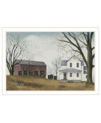 """Sunday Service by Billy Jacobs, Ready to hang Framed Print, White Frame, 33"""" x 23"""""""
