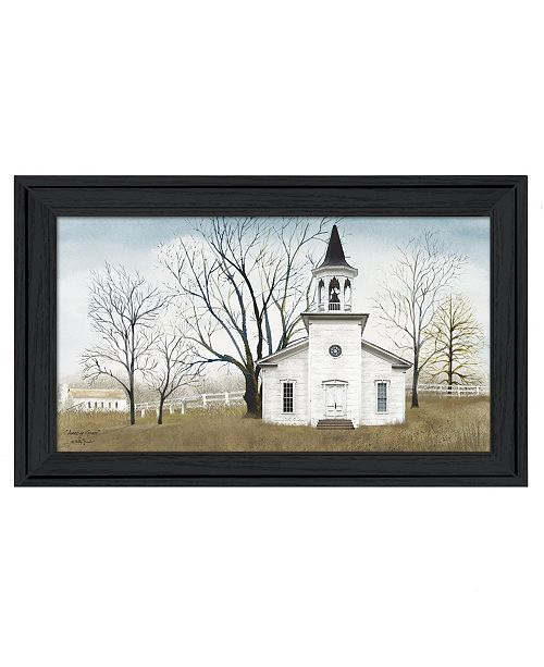 "Trendy Decor 4U Trendy Decor 4U Amazing Grace By Billy Jacobs, Printed Wall Art, Ready to hang, Black Frame, 33"" x 19"""