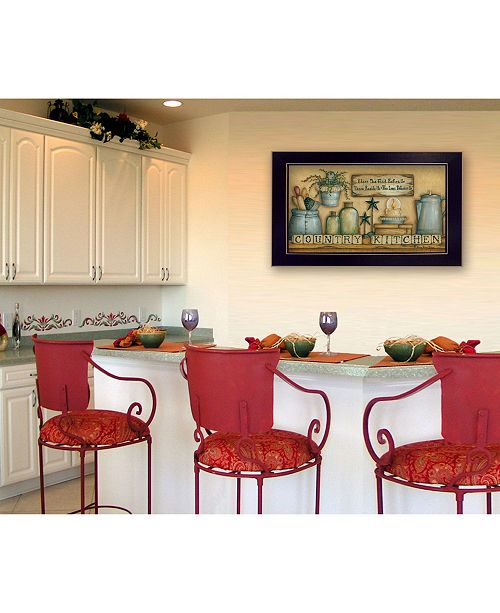Trendy Decor 4u Trendy Decor 4u Country Kitchen By Mary June Printed Wall Art Collection Reviews All Wall Decor Home Decor Macy S