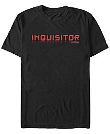 Men's Jedi Fallen Order Inquisitor Text T-shirt