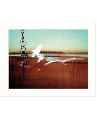 """Liquid Paint by Cloverfield Co, Ready to hang Framed Print, White Frame, 19"""" x 15"""""""