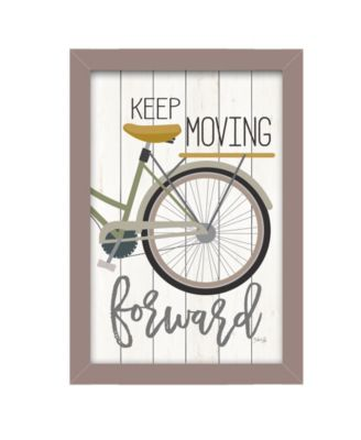 """Moving Forward By Marla Rae, Printed Wall Art, Ready to hang, Beige Frame, 14"""" x 20"""""""