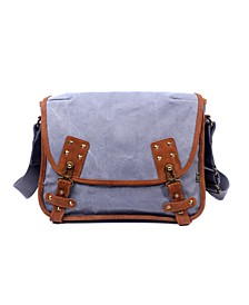 Dolphin Canvas Messenger Bag