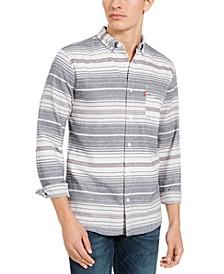 Men's Avalon Striped Flannel Shirt