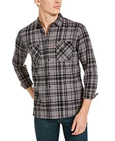 Men's Miguel Regular-Fit Plaid Flannel Shirt