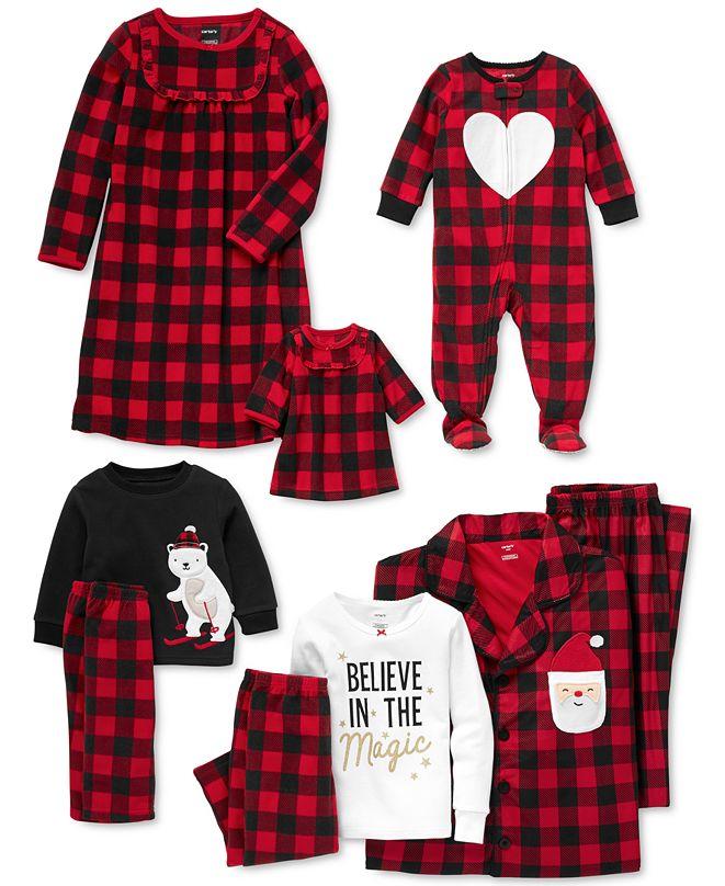 Carter's Buffalo-Check Family Pajamas Collection & Reviews ...