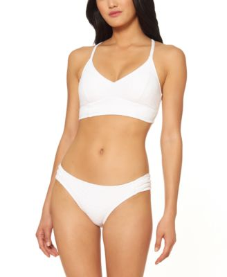 Rose Bay Textured Midkini Bikini Top