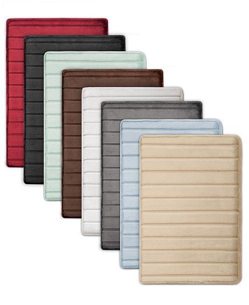 2 Pack Memory Foam Bath Mat Set