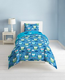Owl 3-Piece Full/Queen Comforter Set