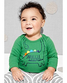 Baby Boys Dinosaur Snuggle Collectible Bodysuit