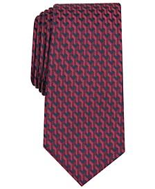 Men's Slim Geometric Tie, Created for Macy's