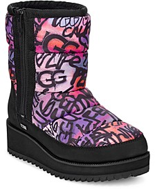 Women's Ridge Graffiti Pop Waterproof Winter Boots