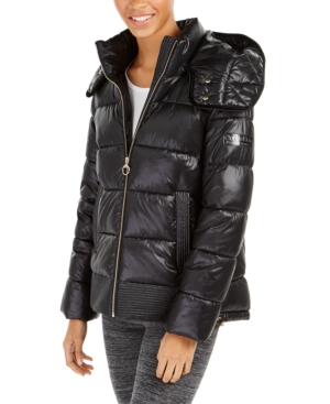 Calvin Klein Jackets PERFORMANCE QUILTED HOODED JACKET
