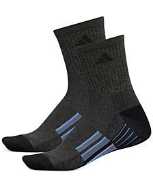 Men's 2-Pk. ClimaLite® Mid-Crew Socks