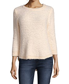 Popcorn High-Low Sweater