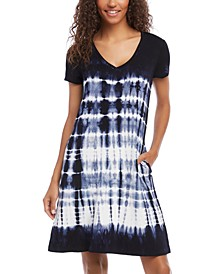 Quinn Tie-Dyed Pocket Dress