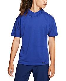 Men's Dri-FIT Short-Sleeve Yoga Hoodie