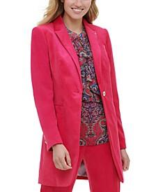 Velvet Topper Jacket