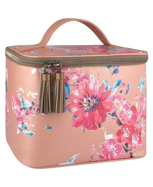 Thermos Patina Vie Glam Lunch Tote Posy Shimmer, Fits 9 Cans