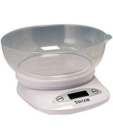 Products 4.4Lb Capacity Digital Kitchen Scale with Bowl