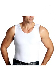 Men's Big & Tall Insta Slim Compression Muscle Tank Top
