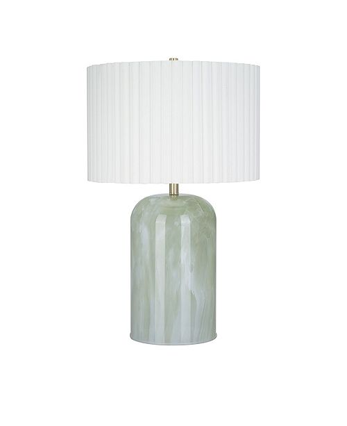 JAlexander Lighting Jude Marbleized Glass Table Lamp
