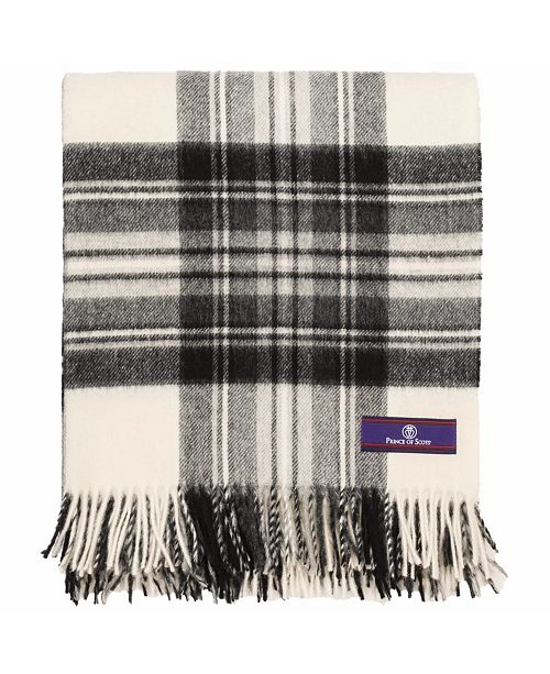 Prince of Scots Highland Tartan Tweed Throw
