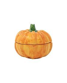 Pumpkins Figural Covered Small Pumpkin