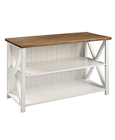 Solid Wood Farmhouse Storage Console
