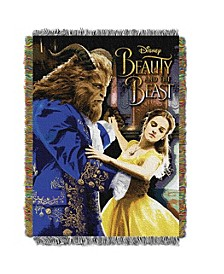 Beauty and The Beast Movie Tapestry Throw