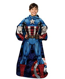 Captain America Kids Wearable Blanket