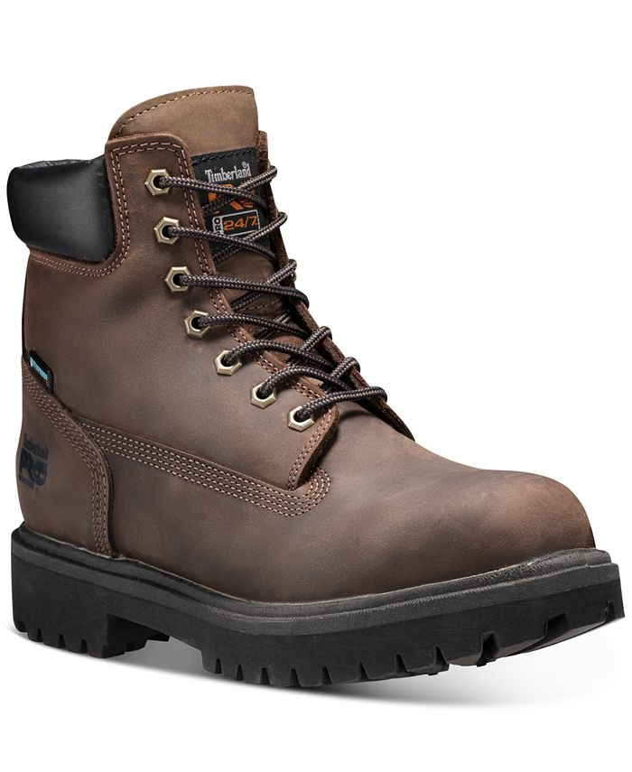"""Timberland - Men's Direct Attach PRO 6"""" Steel Toe Insulated Boots"""