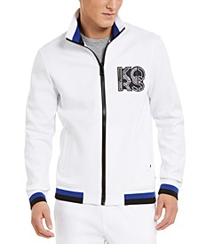 Men's Logo Patch Track Jacket