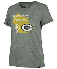 Women's Green Bay Packers State Love T-Shirt