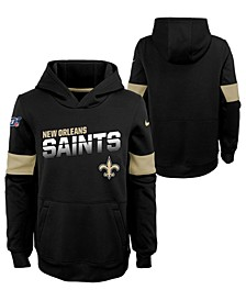 Big Boys New Orleans Saints Therma Hoodie