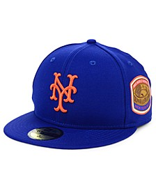 New York Mets World Series Patch 59FIFTY Cap