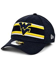 West Virginia Mountaineers Team Color Stripe 39THIRTY Cap