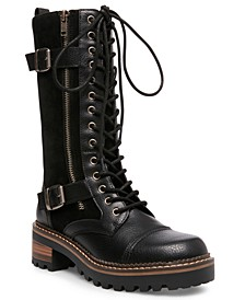 Jessa Lace-Up Boots