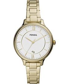 Women's Winnie Gold-Tone Stainless Steel Bracelet Watch 38mm