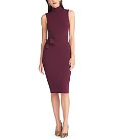 Sleeveless Turtleneck Bodycon Dress