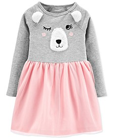 Toddler Girls Bear Tutu Dress