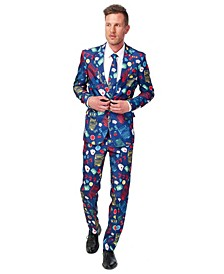 Men's Casino Slot Machine Poker Suit