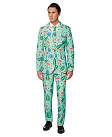 Men's Tropical Flamingo Suit