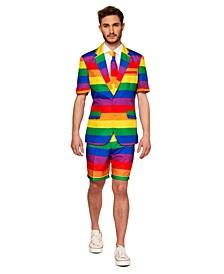Men's Rainbow Pride Summer Suit