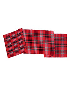 "C F Home Arlington Plaid Runner, 13""X 72"""